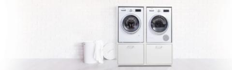Wasmachineverhoger meubel